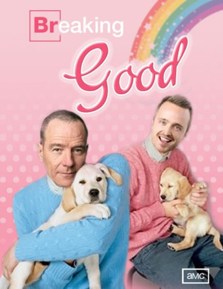 Breaking good with puppies