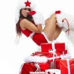 Christmas Babes for your Desktop NSFW