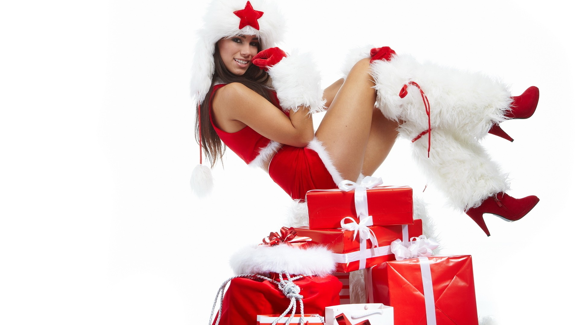 Christmas girls in dress free porn sex video