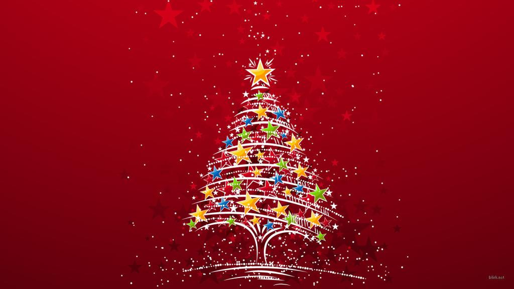 Quite minimal Christmas tree