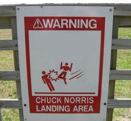 chuck-norris-landing-area