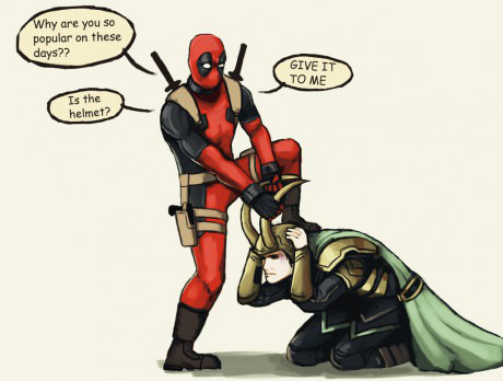 Deadpool wants to know the secret