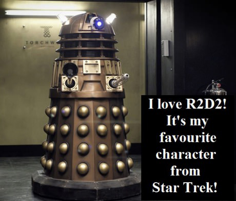I love R2D2 he is my favorite character from Star Trek!