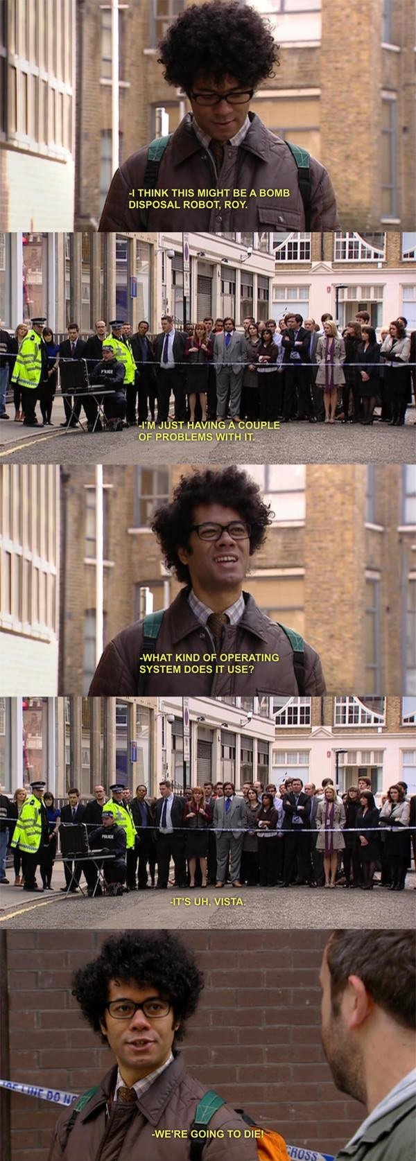 The IT Crowd and WIndows Vista