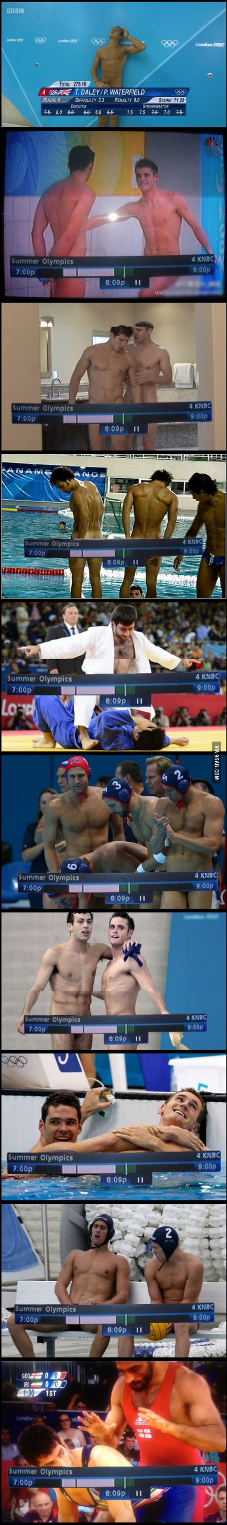 Gay porn or the Olympics, you decide.