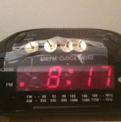 I need an alarm clock like this