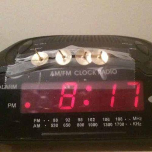 I need an alarm clock like this