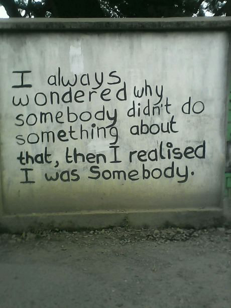 We are somebody