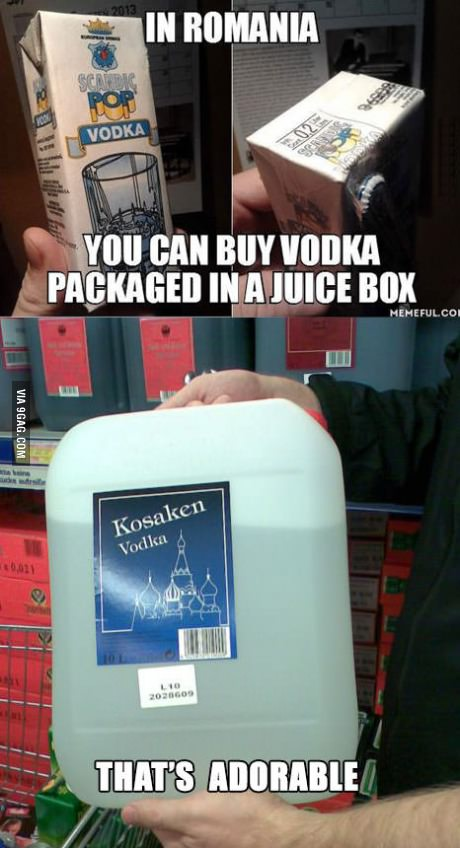 I do like my Vodka, mmmm