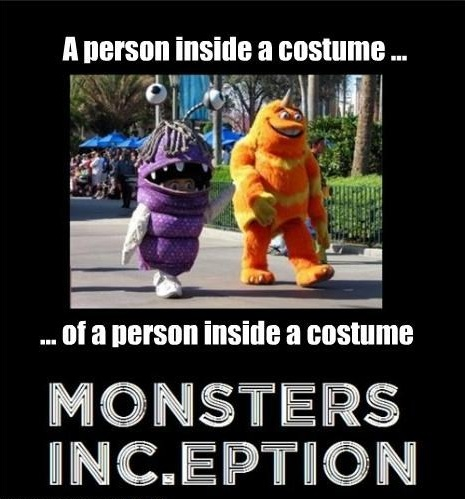 Monsters Inc Inception
