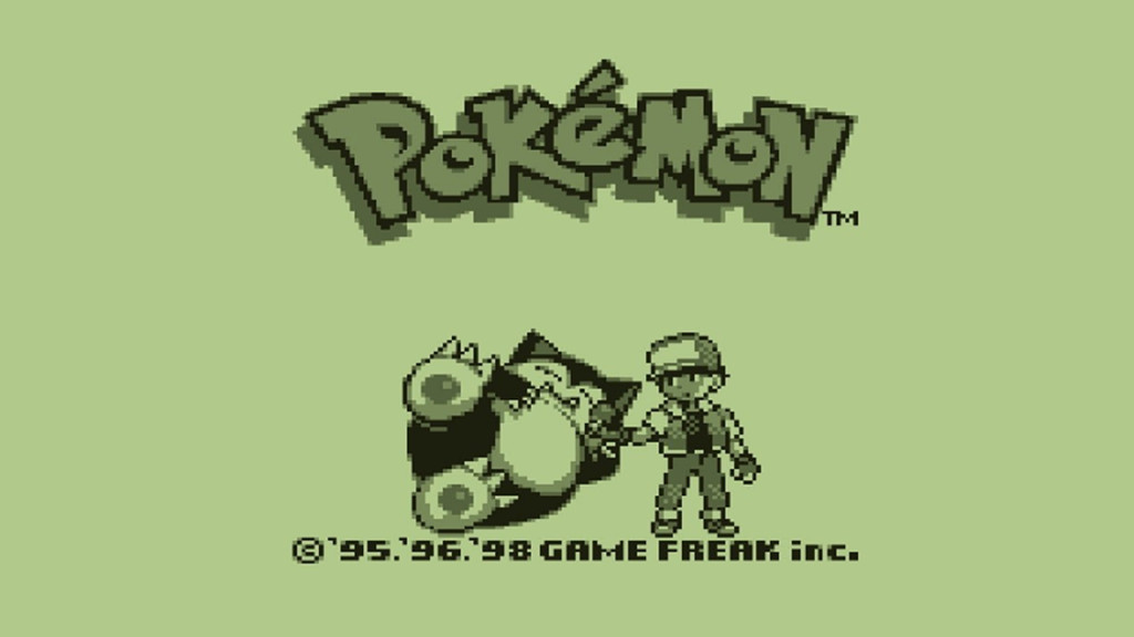 Pokemon: Original Gameboy Pokemon Title Screen