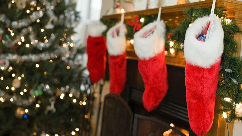 Stockings hung by the fireplace with care