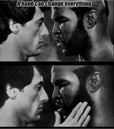 Rocky III and a hand changes everything