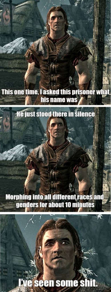 Skyrim has seen some shoot