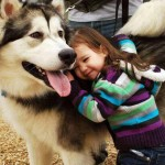 Cute Dogs with Little Kids