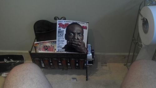 Eddy Murphy watching you poop