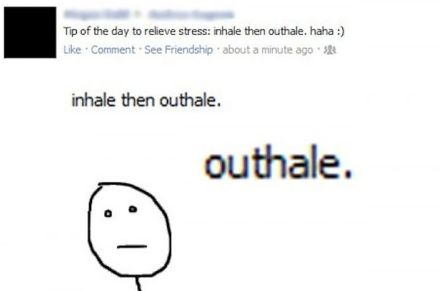 I outhale at least half the time I breathe