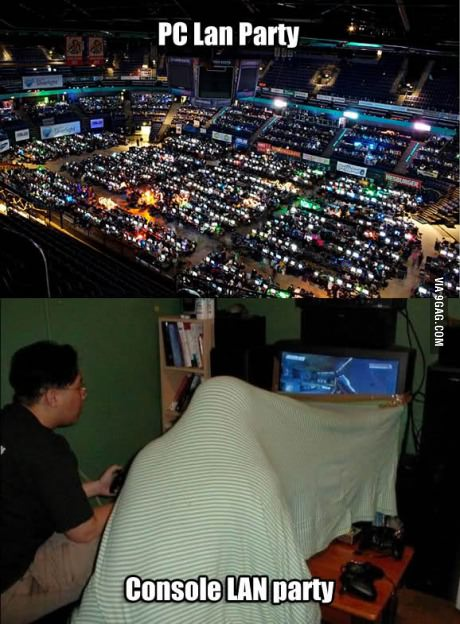 PC gaming vs console gaming