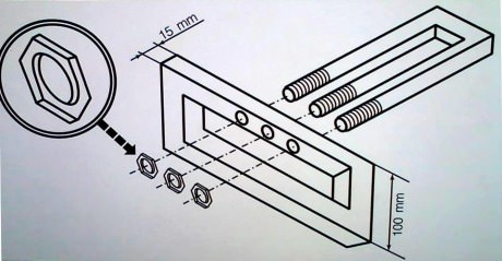 I'm sure I saw this on some Ikea flat pack