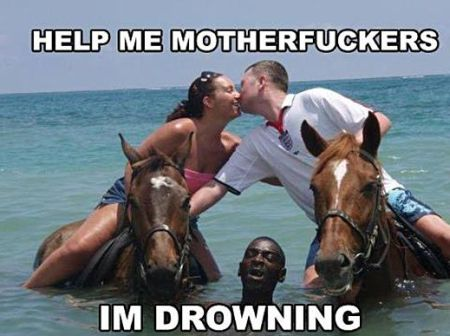 Help me I'm drowning and you guys are just kissing
