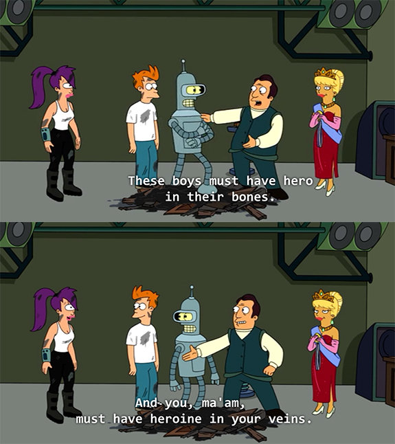 Awesome Futurama moment