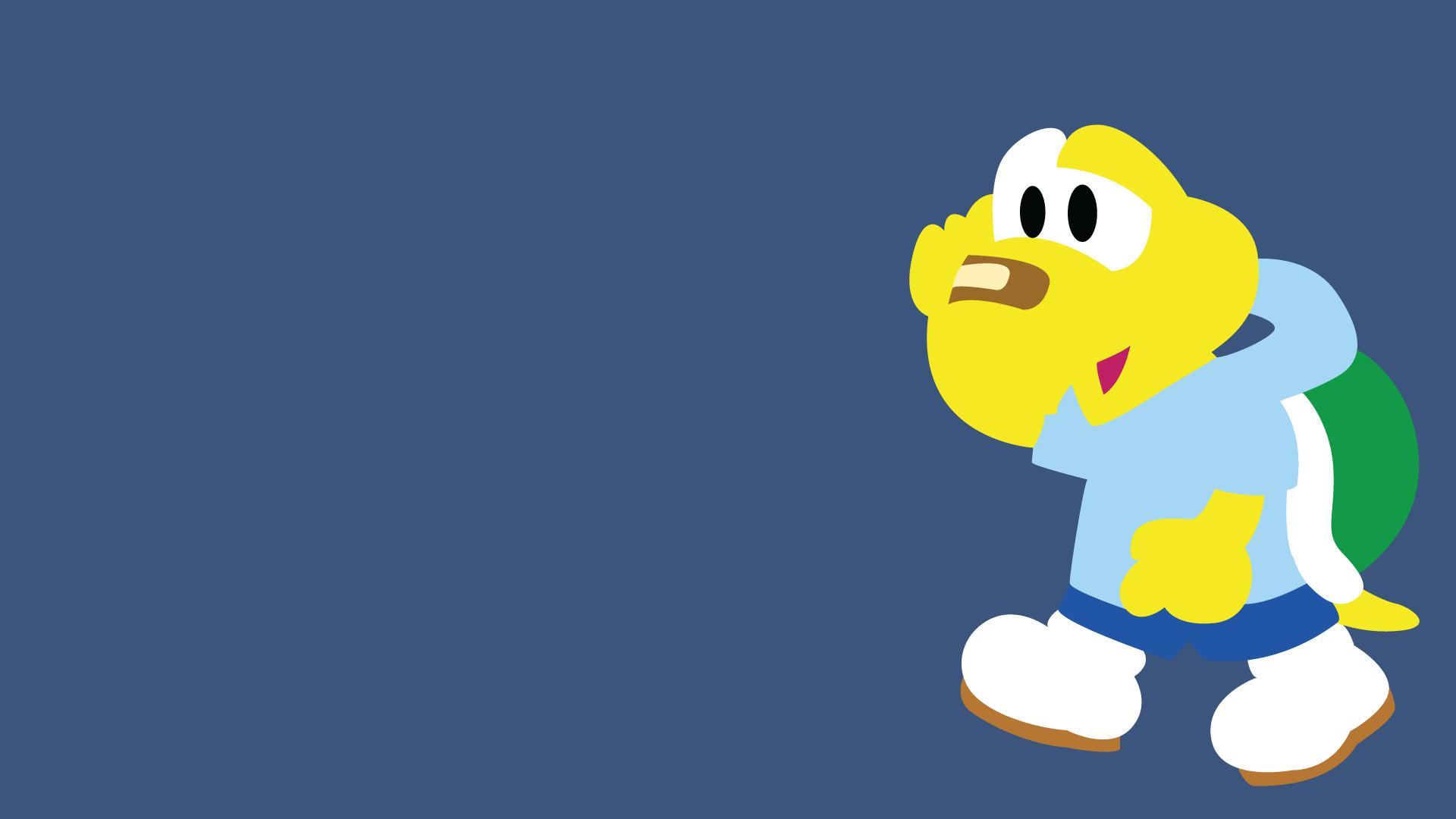 Mario Desktop Backgrounds: Minimal Super Mario Wallpaper