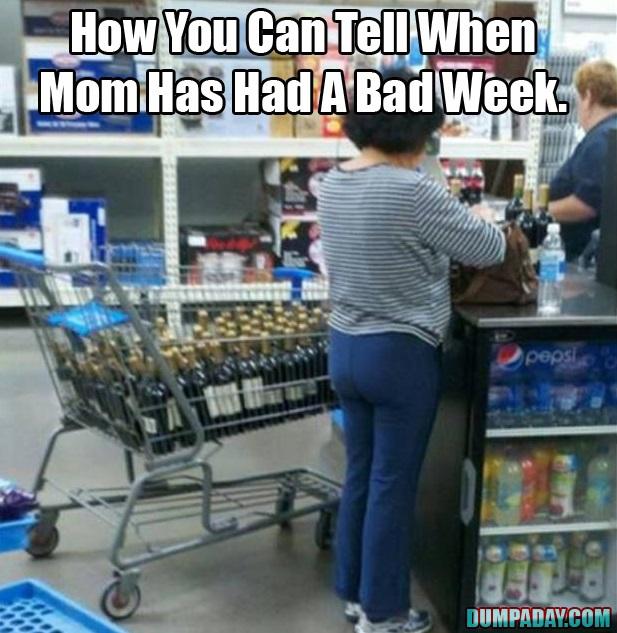 Bad week?  Bad day.