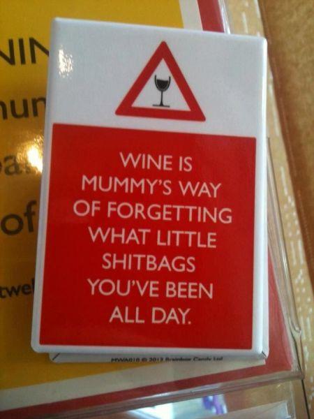 Wine has it's uses