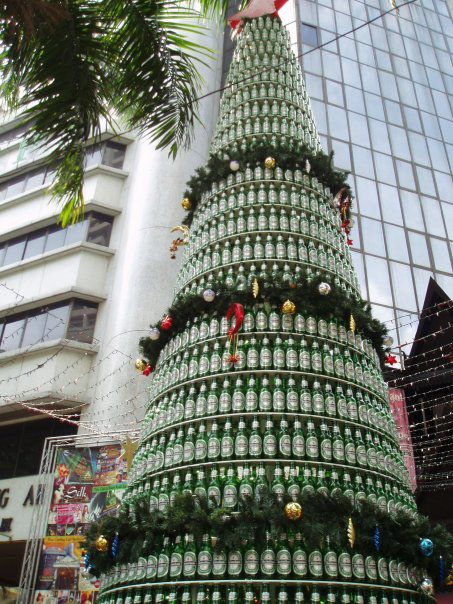 Heineken don't do Christmas Trees, but if they did...