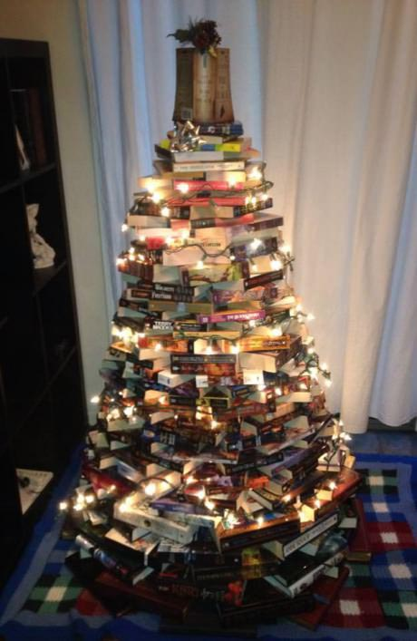 "A Christmas ""tree"" for the reader in your life"