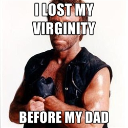Chuck Norris and virginity