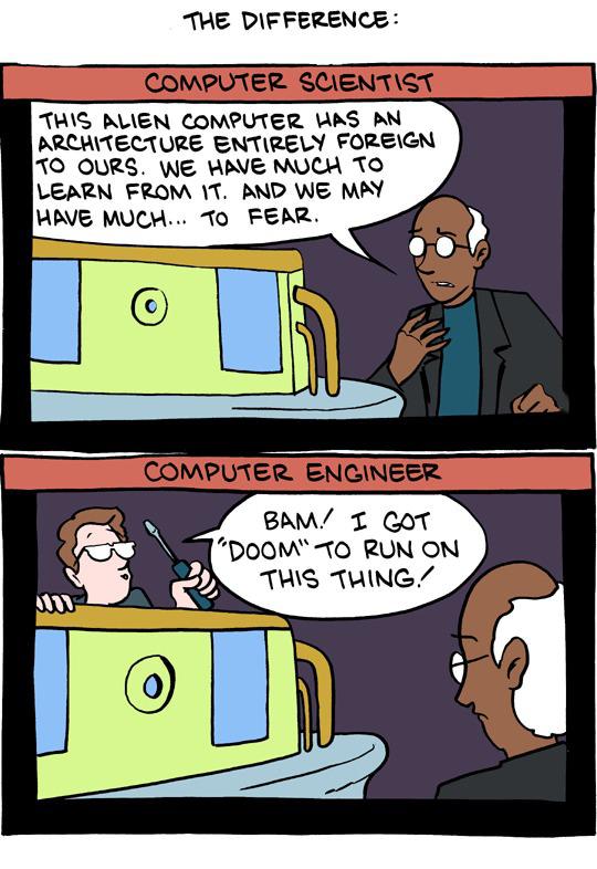 Scientists vs engineers