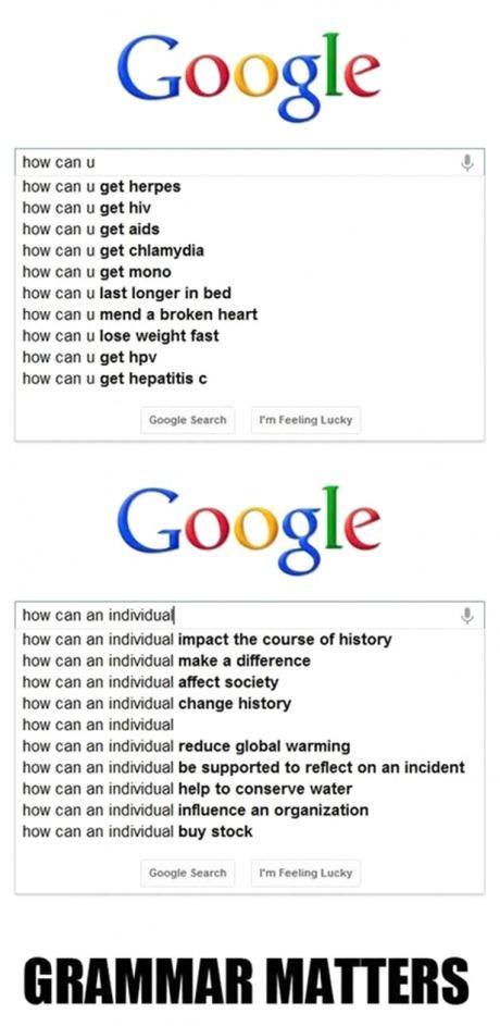 google-grammar-matters