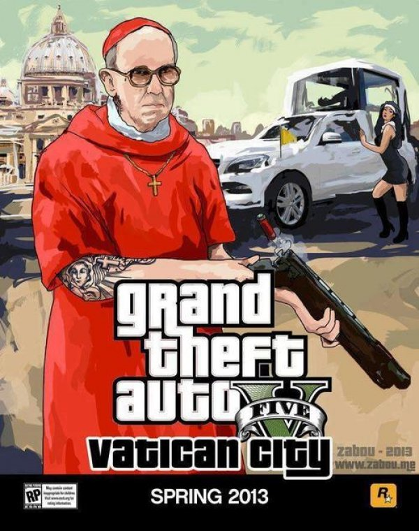 Vatican city, would be pretty cool