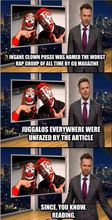 Insane Clown Posse greatness