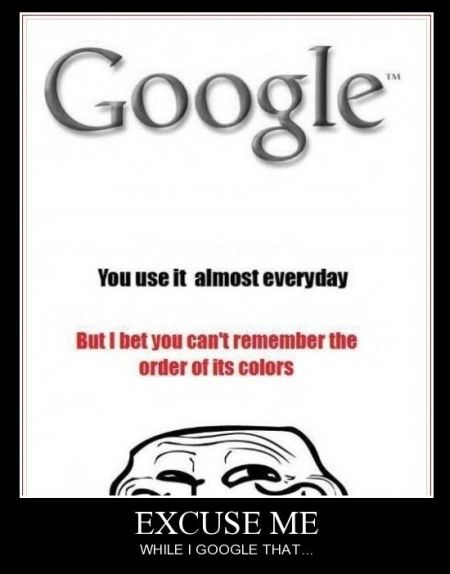 Well in my defense I tend to search from the toolbar....