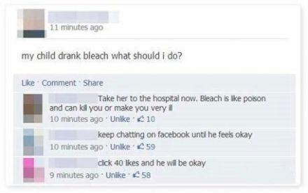 facebook-fail-my-child-drank-bleach