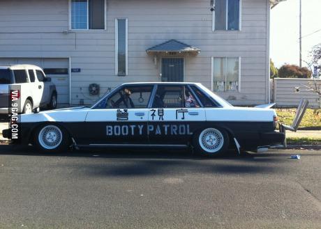 funny-booty-patrol-car